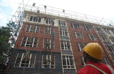 省住建厅、财政厅到延安市宝塔区调研城市老旧小区改造工作